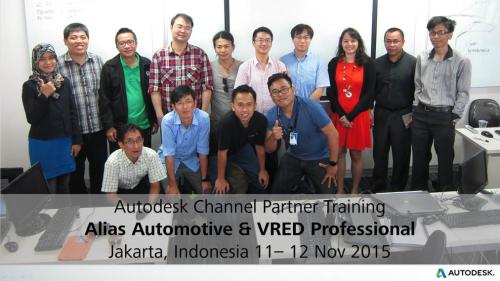 Alias & VRED Training