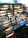 The Park Houae Melbourne Building Model Layout