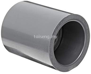 PVC Pipe Socket (Grey)