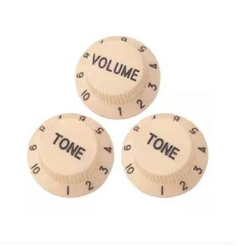 Guitars Control Knobs 1 Volume 2 Tone for Stratocaster SQ Electric Guitars