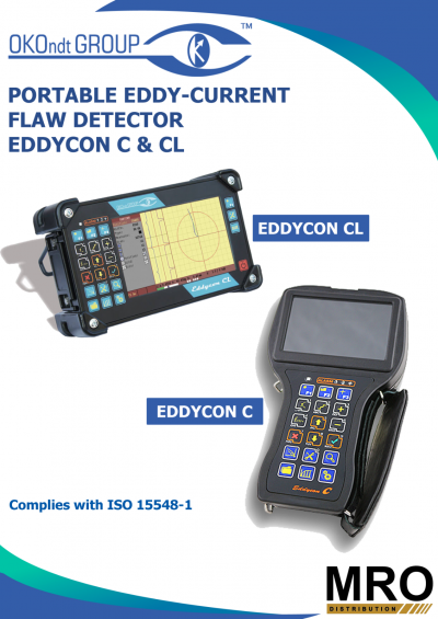 Portable Eddy Current Flaw Detector Eddy C & CL