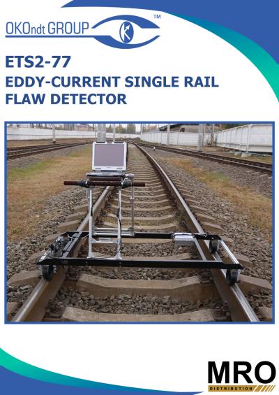 Eddy-Current Single-Rail 8-Channel Flaw Detector