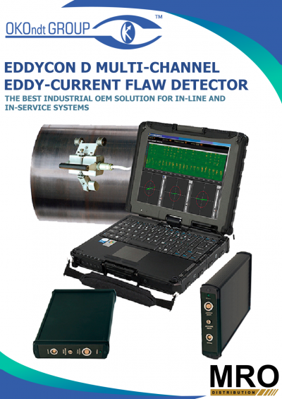 EDDYCON D Multi-Channel Eddy Current Flaw Detector