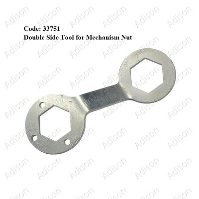 Code: 33751 Double Side Tool For Mechanism Nut