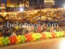 Long Bundle Balloons Decor Printing / Decoration Balloon