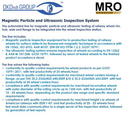 Magnetic Particle and Ultrasonic Inspection System