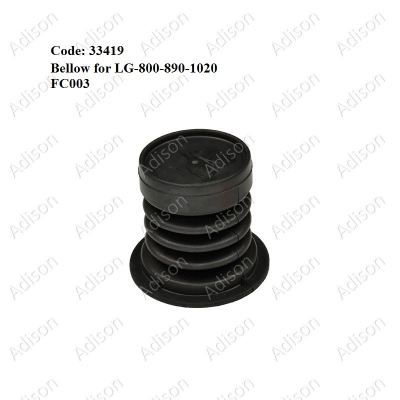 Code: 33419 LG-800-890-1020 Valve Packing/Bellow