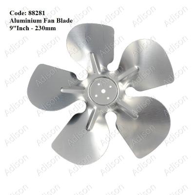 "Code: 88281 Aluminium Fan Blade 9""Inch/230mm"