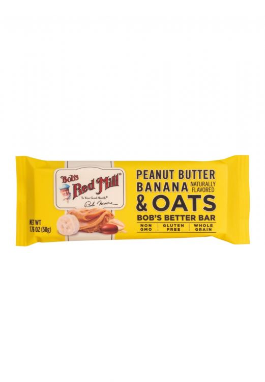 Peanut Butter Banana & Oats Bob's Bar