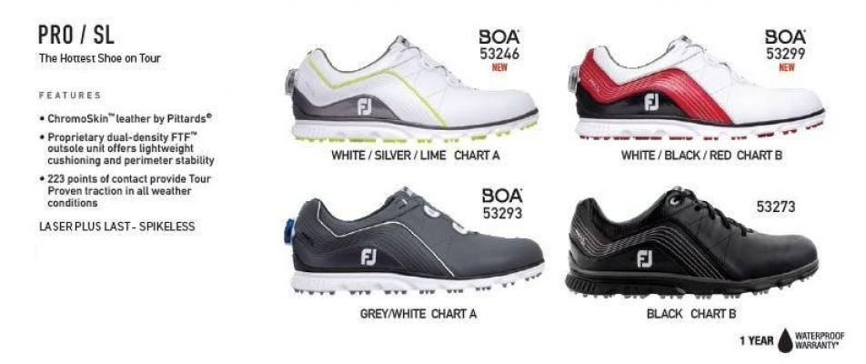 FJ PRO SL BOA GOLF SHOES