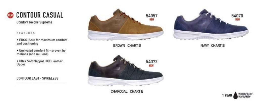 FJ CONTOUR CASUAL GOLF SHOES