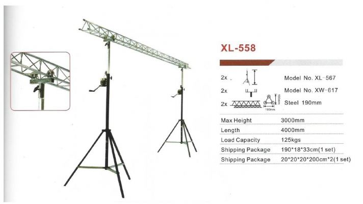 XL-558 Lighting Stand