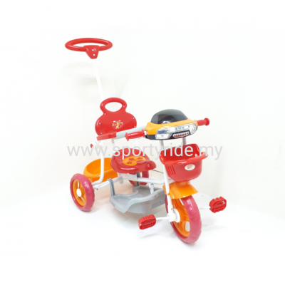 Tricycle with handle 3301