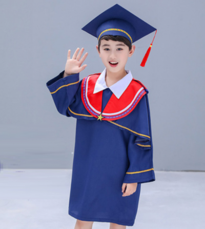 YY Graduation Gown Set F