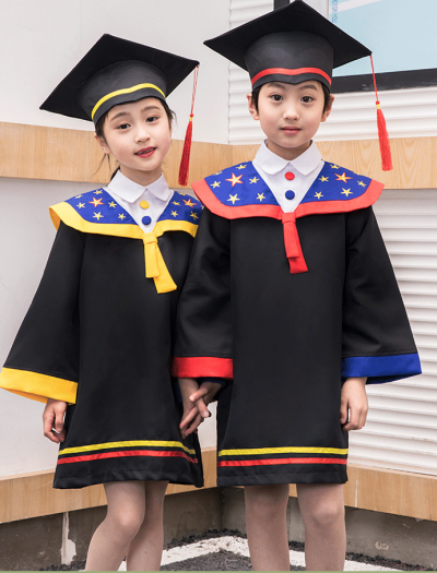 YY Graduation Gown Set H