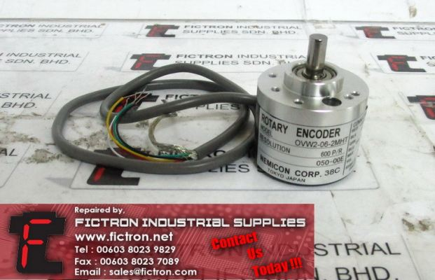 OVW2-06-2MHT OVW2062MHT NEMICON Rotary Encoder Supply Malaysia Singapore Indonesia USA Thailand Australia