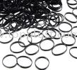 Black Hair Elastic Band (school use)  Hair Accessories
