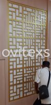 Office Divider Decoration cut by rounter or laser  Door  sign / table sign / glass door sign Interior Sign and Building Directory