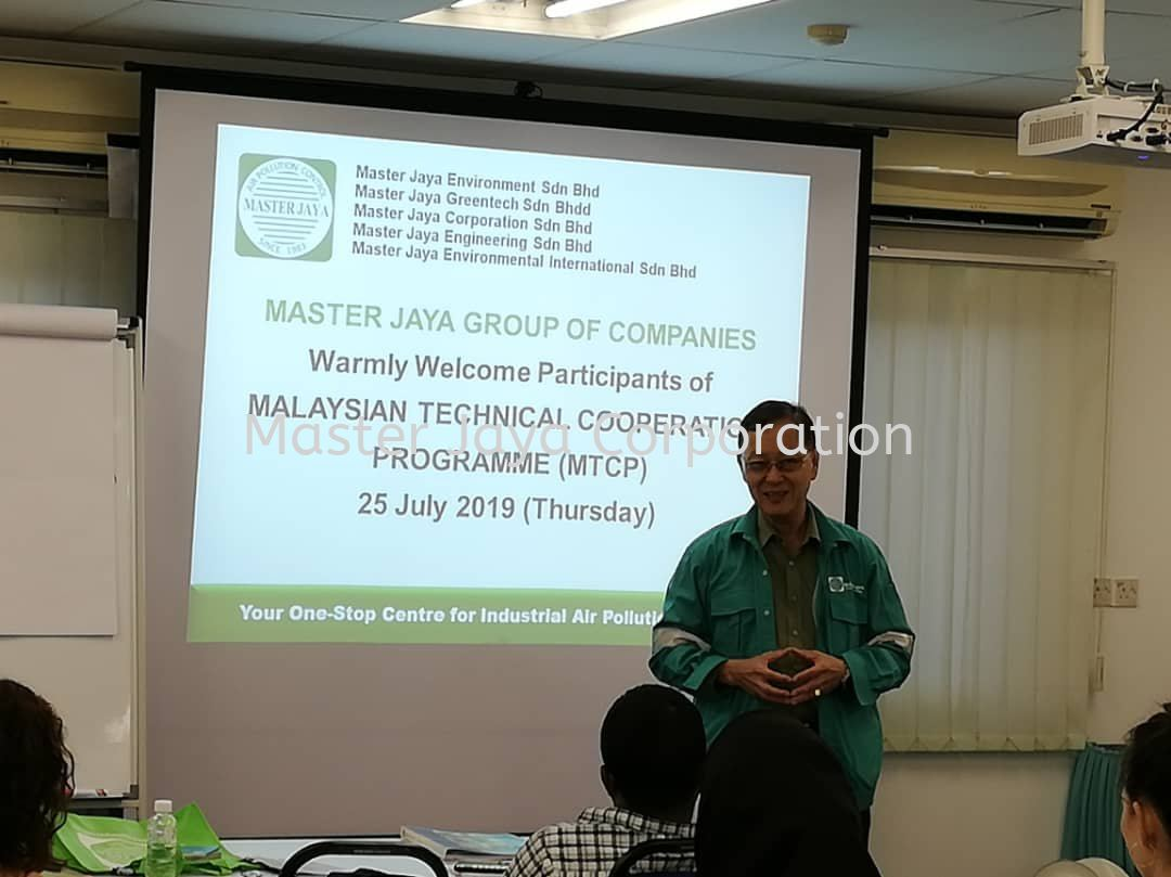 Malaysia Technical Cooperation Programme (MTCP) organised by Environment Institute of Malaysia (EiMAS)