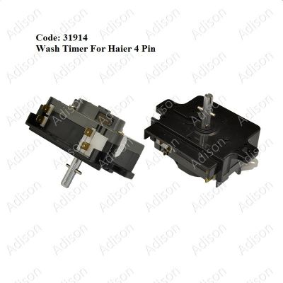 Code: 31914 Haier Wash Timer 4 pin