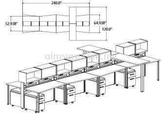 Call centre workstation design
