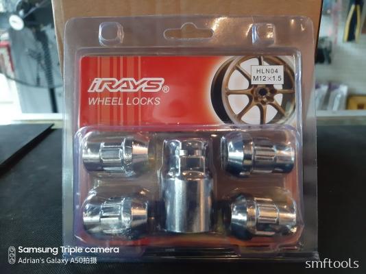 iRAYS M12xP1.5MM Bull Lock Nut