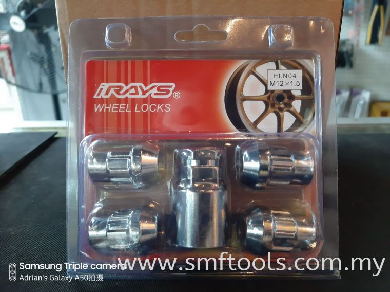iRAYS M12xP1.5MM Bull Lock Nut WHEEL TOOLS EQUIPMENT