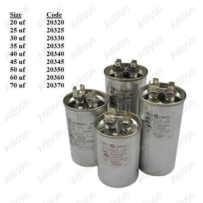 Code: 20335 35 uf 450 Volt Air-Cond Aluminium Capacitor