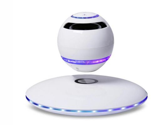 3D Floating LED Levitating Bluetooth Speaker