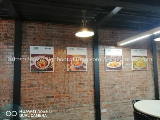 Wong ciu canves poster frame at bangsa Kuala Lumpur
