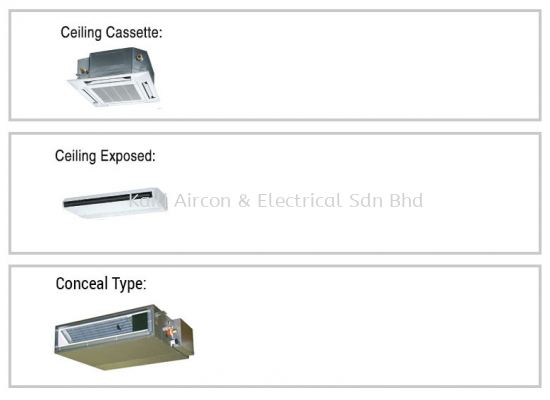 PANASONIC DUCTED PACKAGE / CASSETTE TYPE / CEILING EXPOSED