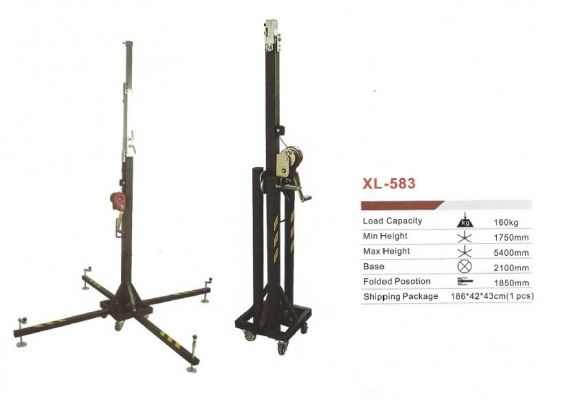Mobile Stage Stand XL 583