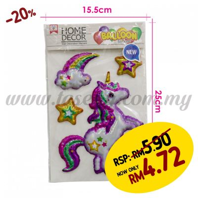 Wall Decoration Stickers - Unicorn (SK-WXDD-03)