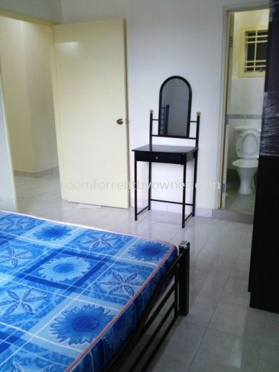 Bayu Puteri 2 Apartment Master Room