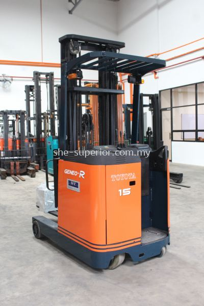 Battery Reach Truck (Stand on)