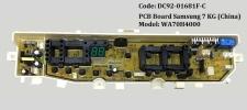 Code: DC92-01681F-C PCB Board Samsung (China) PCB Board Washing Machine Parts