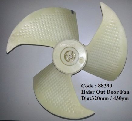 Code: 88290 Haier Out Door Fan Blade �C 320mm (ORI)