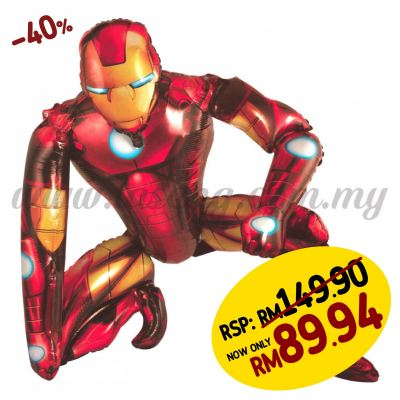 [Cartoon] Ironman Air Walker Foil Balloon (FB-AW-IM)