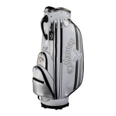 Callaway Solid 19 JM Caddy Bag White