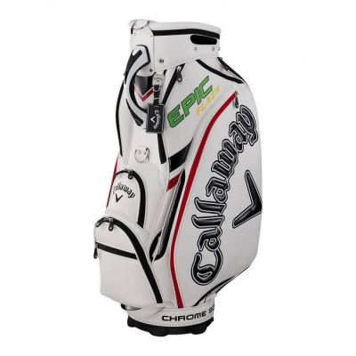 Callaway Tour 19 JM Caddy Bag White/Red/Black