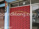 Eg 3D box up lettering signage  signboard design at sentosa klang Acrylic Box Up