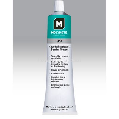 Molykote 3451 Grease Chemical Resistant 3-oz
