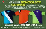 Customade for School T-shirt Promo