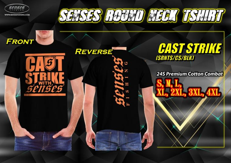 SENSES ROUND NECK TSHIRT-CAST STRIKE