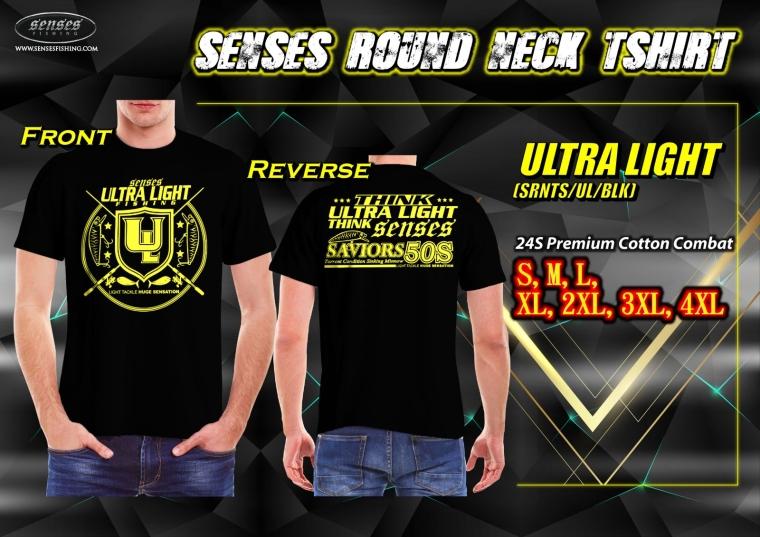 SENSES ROUND NECK TSHIRT-ULTRA LIGHT