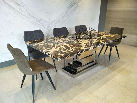 8 Seaters Mordern Marble Dining Table