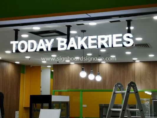 Today Bakeries # 3D signage