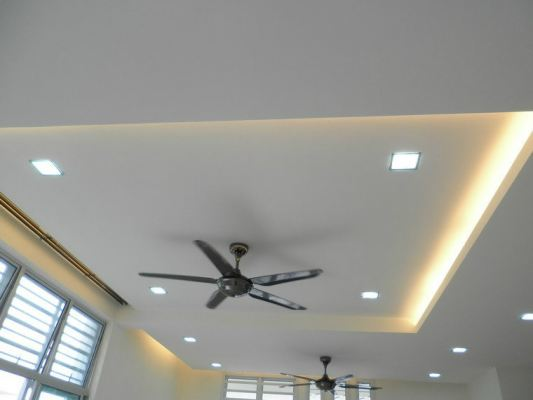 Plaster Ceiling With Light Holder - Johor Bahru
