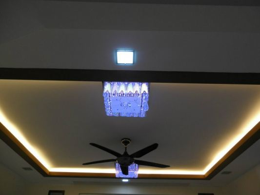 Plaster Ceiling With Light Holder - Selangor
