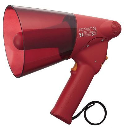 ER-1206S.TOA Splash-proof Hand Grip Type Megaphone with Siren